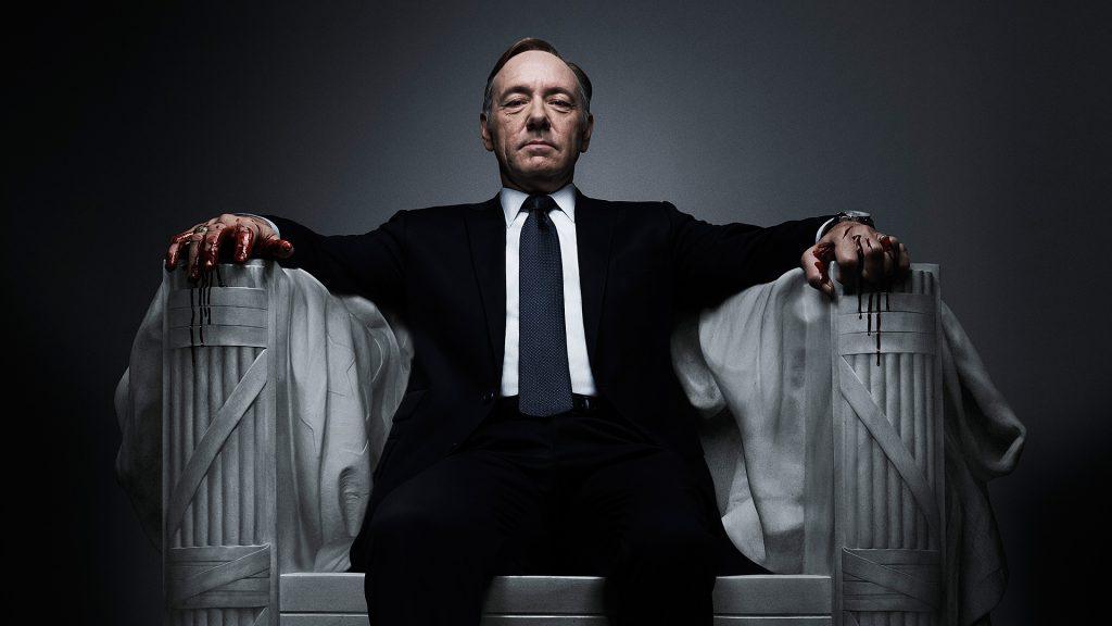 Netflix suspende grabación de House of Cards tras escándalo de Kevin Spacey
