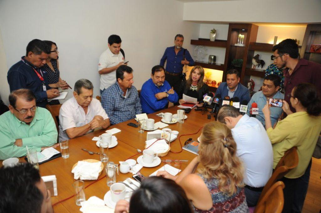 Acuerdan Secretario de Turismo e Intercamaral impulsar Centro Histórico de Culiacán