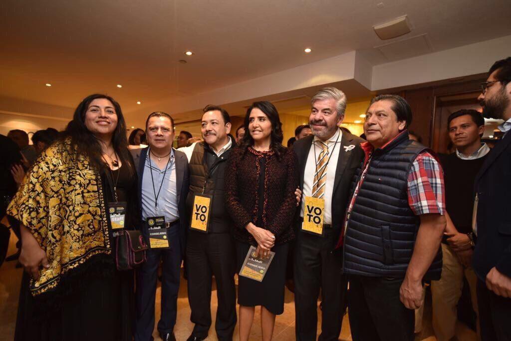 Alejandra Barrales, Raúl Flores y Héctor Serrano ofrecieron una conferencia.