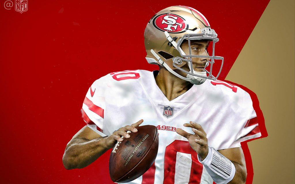 El quarterback Jimmy Garoppolo fue canjeado de los Patriotas de Nueva Inglaterra a los 49ers de San Francisco a cambio de una segunda selección del draft.