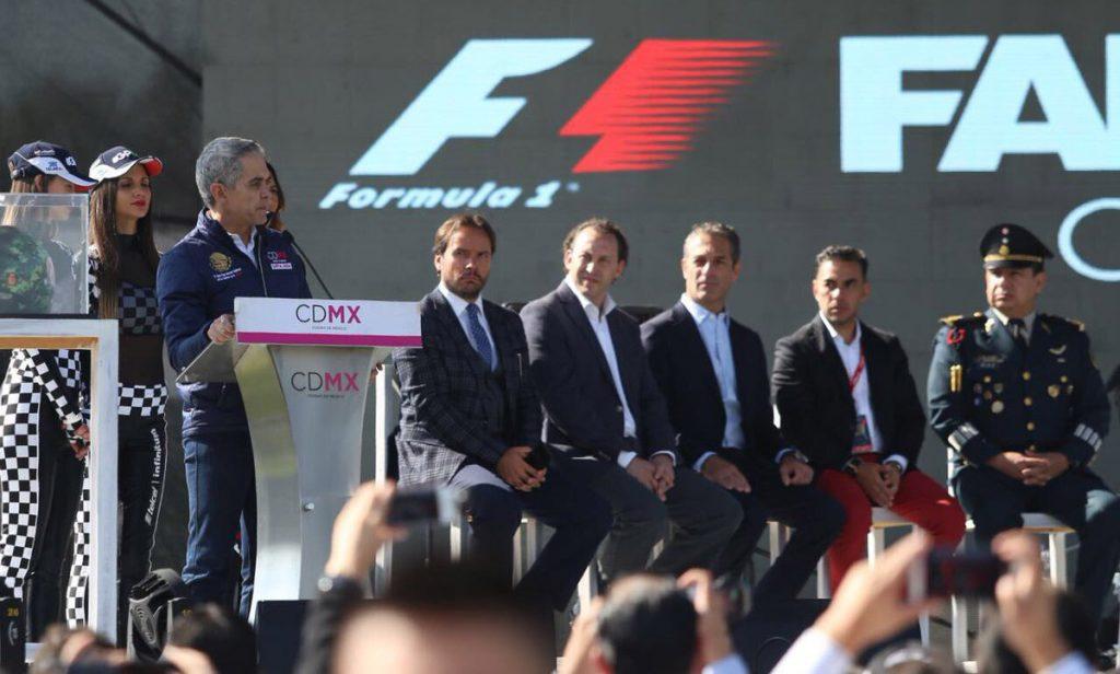 La instalación en Campo Marte cuenta con experiencias interactivas para los fans de la Fórmula Uno y transmisión en vivo del Gran Premio de México