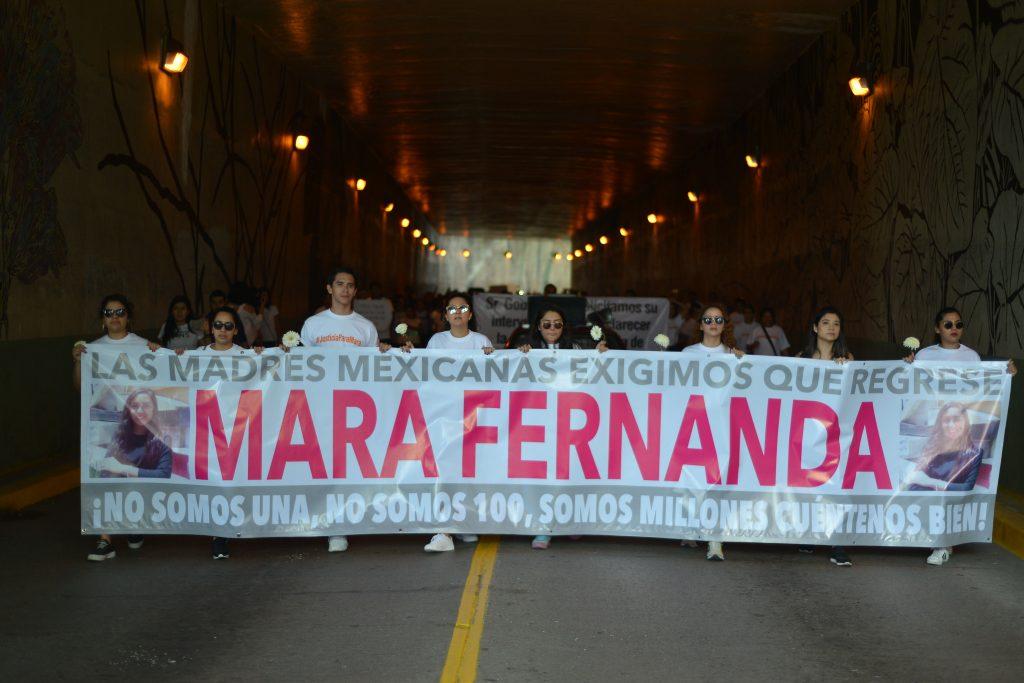 Marcha en Xalapa, Veracruz, el pasado 17 de septiembre. CUARTOSCURO.