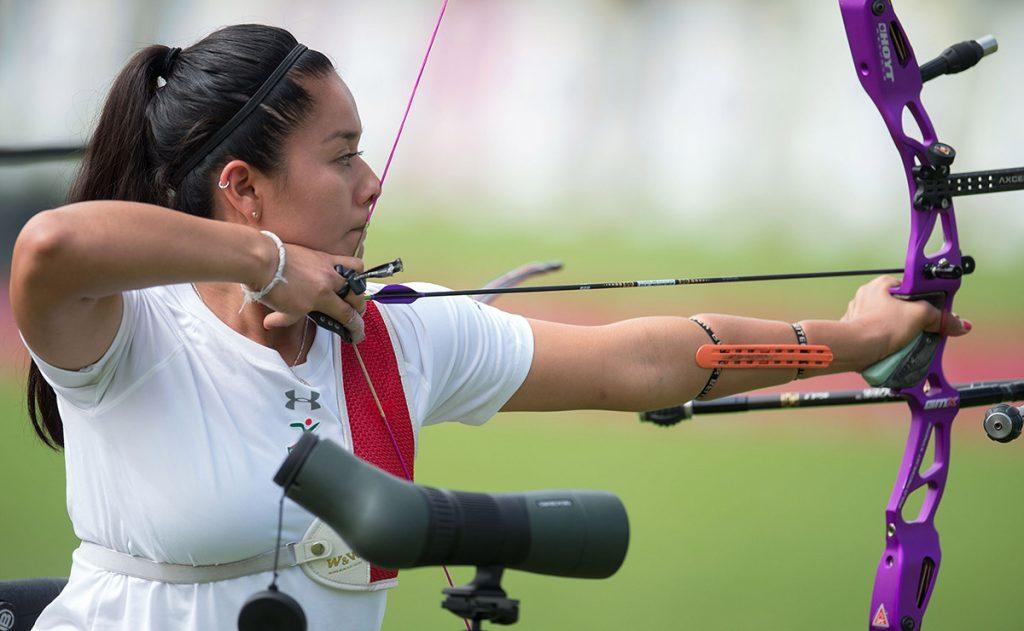La medallista olímpica Mariana Avitia y el Campeón Panamericano Luis Alvarez avanzaron a la siguiente ronda, en las pruebas individuales de arco recurvo.