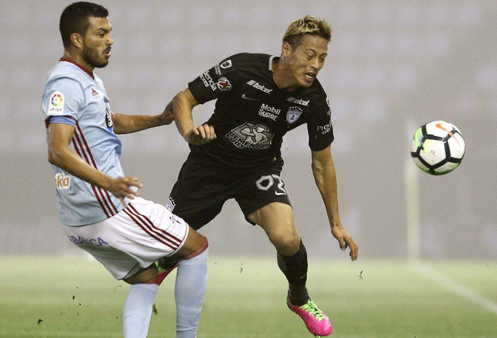 Los Tuzos del Pachuca ganaban 3-1 faltando 15 minutos y terminaron perdiendo 4-3 ante el Celta de Vigo en partido amistoso en Balaídos