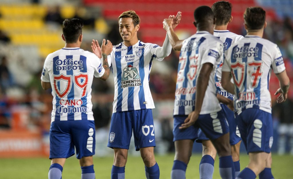 Pachuca despedazó 5-0 a Zacatepec y Santos Laguna venció 2-0 a un temeroso Necaxa para avanzar a los cuartos de final de la Copa MX