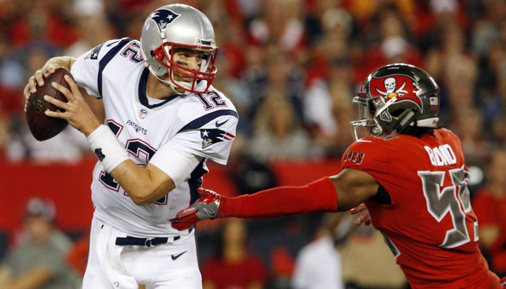 Los Patriotas de Nueva Inglaterra fueron a la casa de Tampa Bay para vencer 19-14 a los Bucaneros en el inicio de la Semana 5 de la NFL.