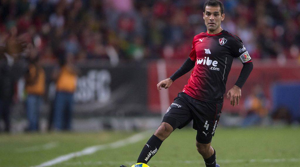 Rafael Márquez estará en la banca y como jugador disponible del Atlas en el clásico tapatío contra Chivas de la Copa MX; su último partido fue el 6 de agosto