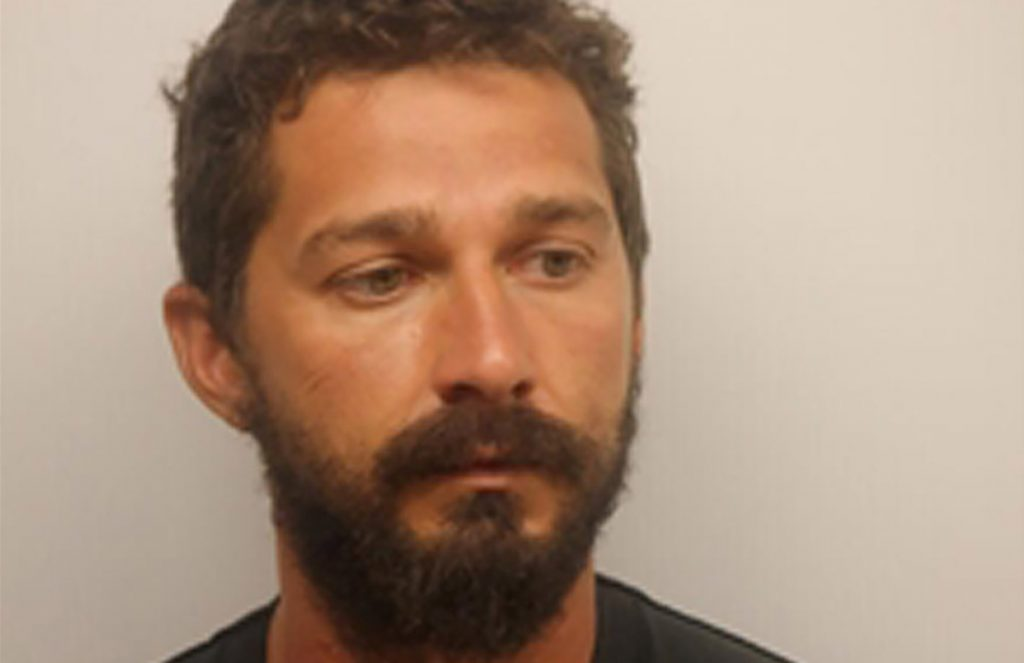 El actor Shia LaBeouf se declaro culpable del delito menor de obstrucción al intentar evadir a la policía en un incidente en Georgia