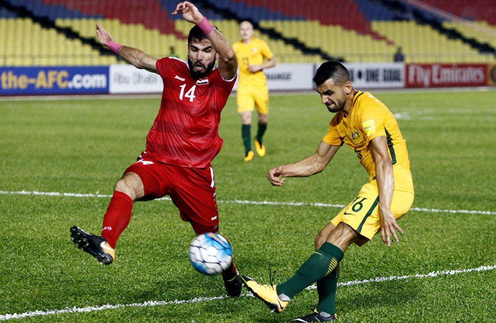 La selección de Siria rescató el empate 1-1 con Australia en el partido de ida del primer repechaje asiático para el Mundial de Rusia 2018.