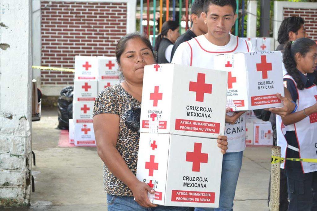 Centros de acopio de la Cruz Roja cerrarán el próximo miércoles