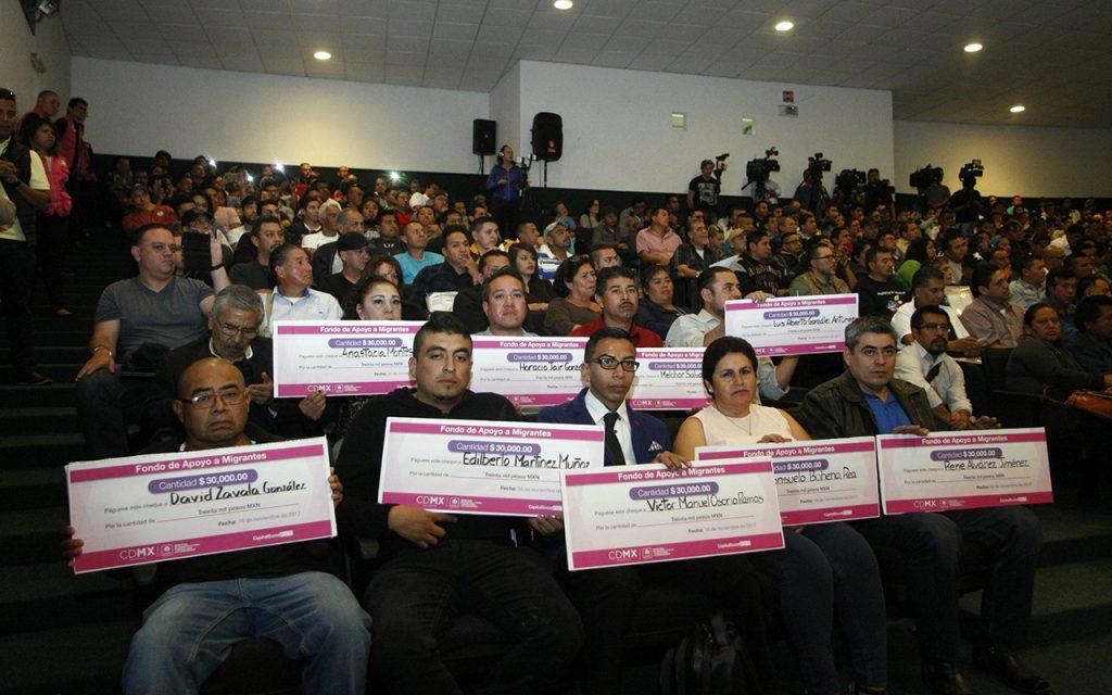 Migrantes que regresaron a México han recibido 6.2 mdp para emprender