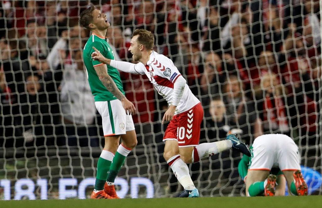 Con hat-trick de Christian Eriksen, Dinamarca goleó 5-1 a Irlanda en Dublin para clasificarse al Mundial de Rusia