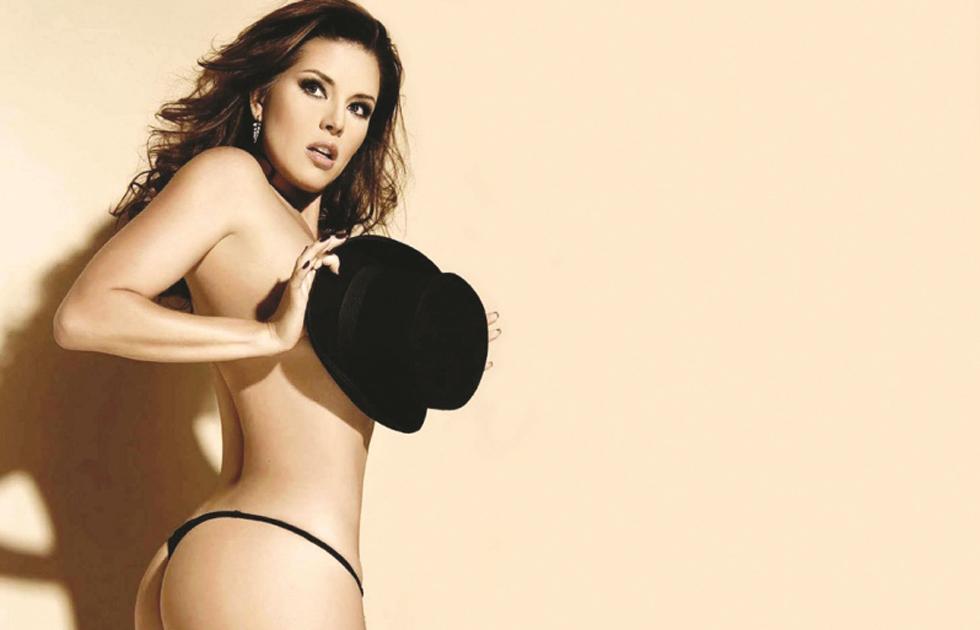 Alicia Machado generó polémica con esta foto en topless