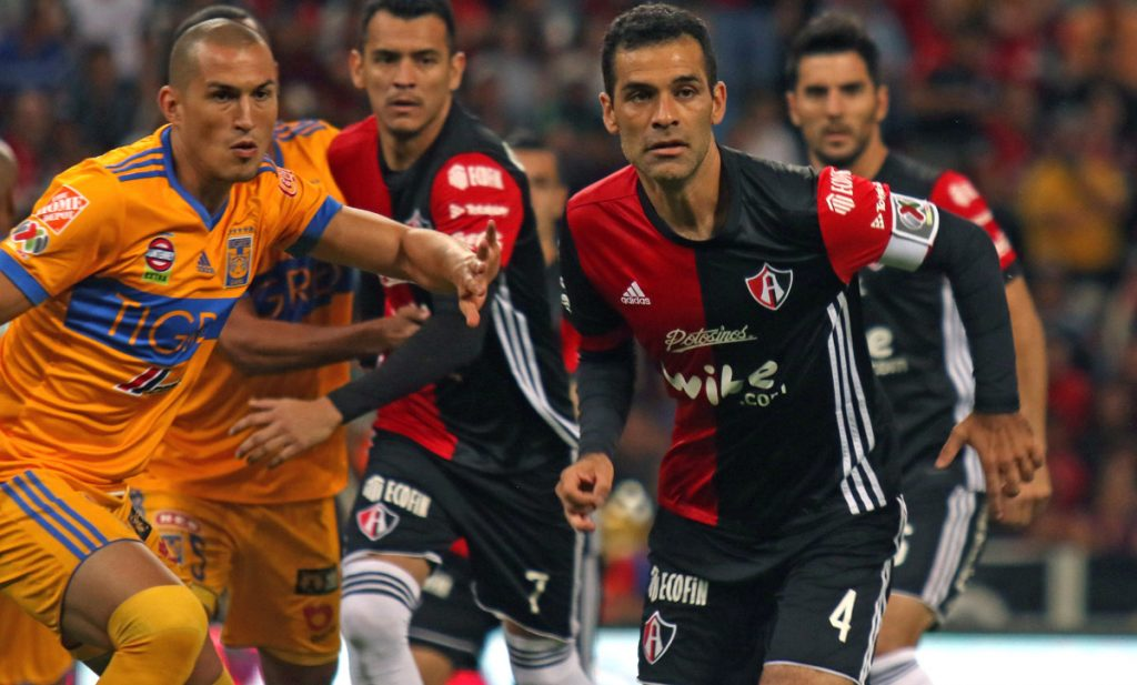 Los Rojinegros del Atlas y los Tigres de la UANL igualaron 1-1 en el partido pendiente de la jornada 8; Atlas se metió a zona de liguilla