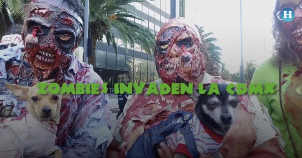 Así se vivió la décima edición de la Marcha Zombie en la CDMX