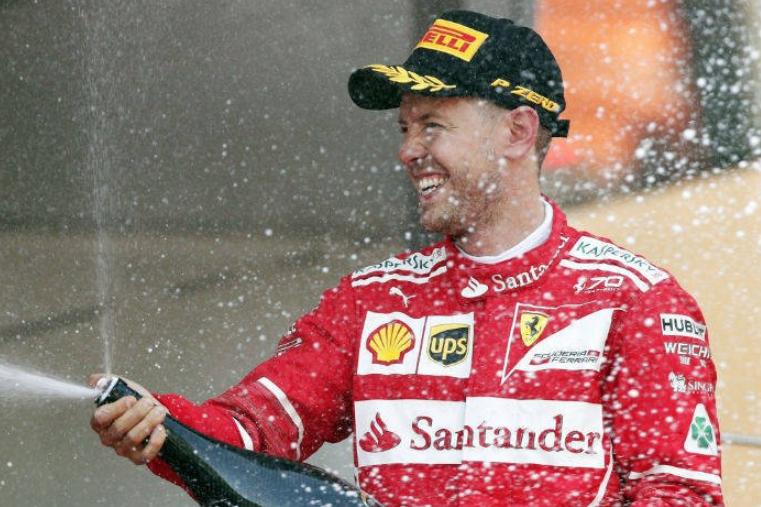 Vettel se impone en el GP de Brasil