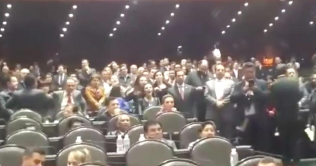 "Diputadas del PRI gritan ""Ehh Puto"" a miembro de Morena; Conapred exige disculpa"