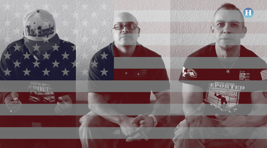 Pelearon por Estados Unidos y los deportaron