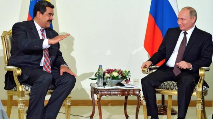 Nicolás Maduro y Vladimir Putin Foto AP