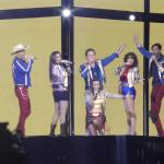 Así se vivió el concierto de Timbiriche en el Zócalo