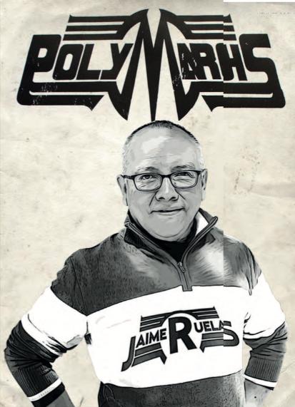 Jaime Ruelas, el ilustrador que le puso rostro al High Energy