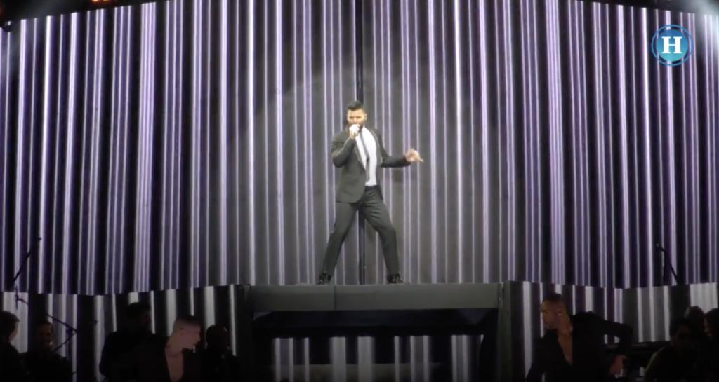 Ricky Martín ofrece concierto en el Zócalo de la CDMX