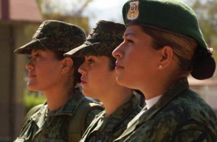 Mujeres son capaces de cumplir en todas las áreas de Fuerzas Armadas