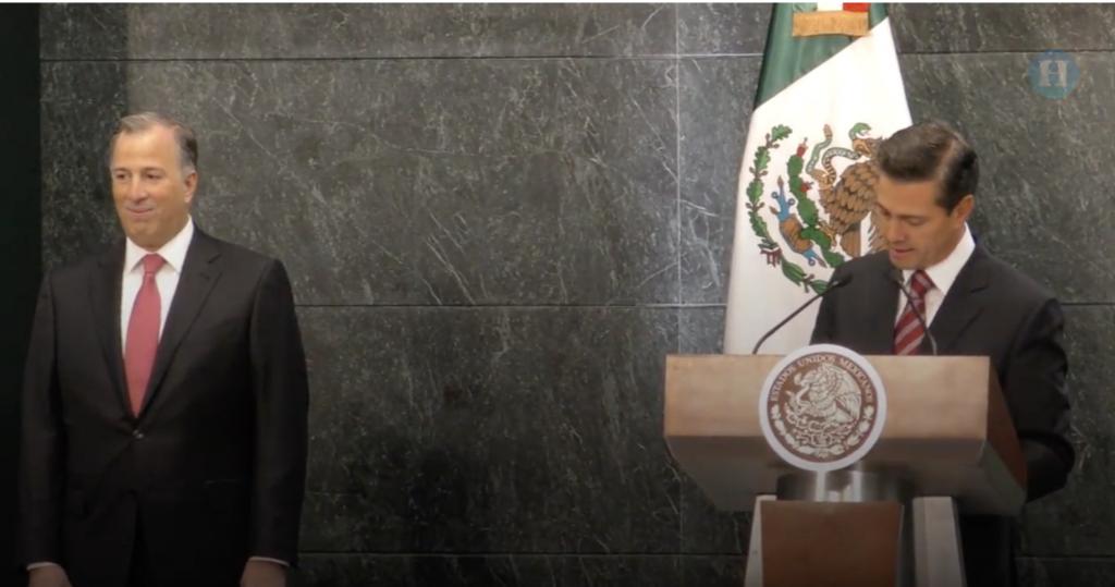 Peña Nieto agradeció a Meade su labor en el servicio público