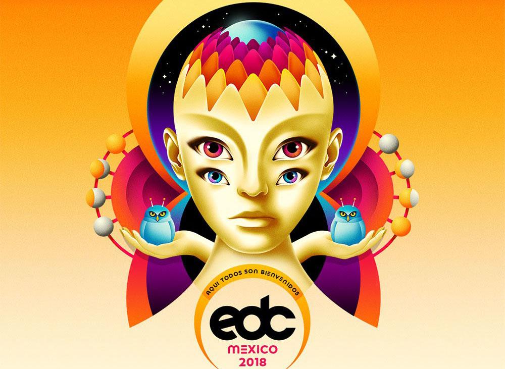 Revelan cartel del EDC 2018: Tiësto y Eric Prydz encabezan el festival