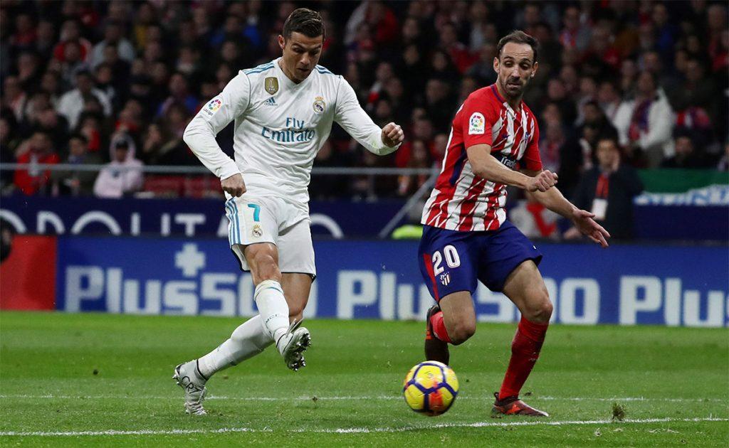 Atlético de Madrid y Real Madrid igualaron 0-0 en el primer derbi madridista celebrado en el estadio Wanda Metropolitano