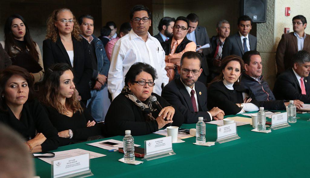 Integrantes de la Comisión de Puntos Constitucionales. CUARTOSCURO.
