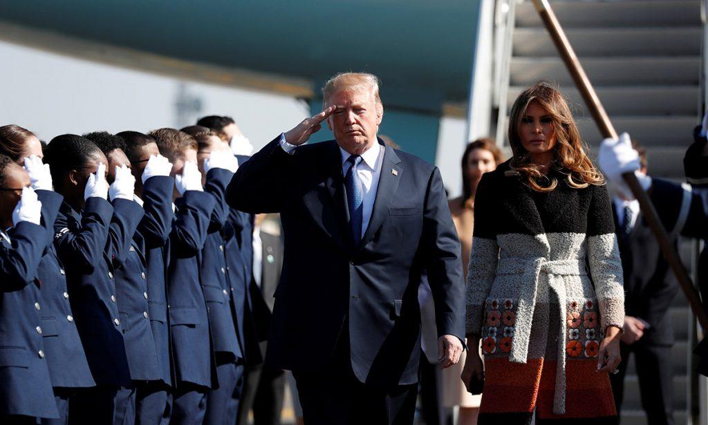El presidente de los Estados Unidos, Donald Trump estará en Japón un par de días, en los que aprovechará para hasta jugar golf con el primer ministro