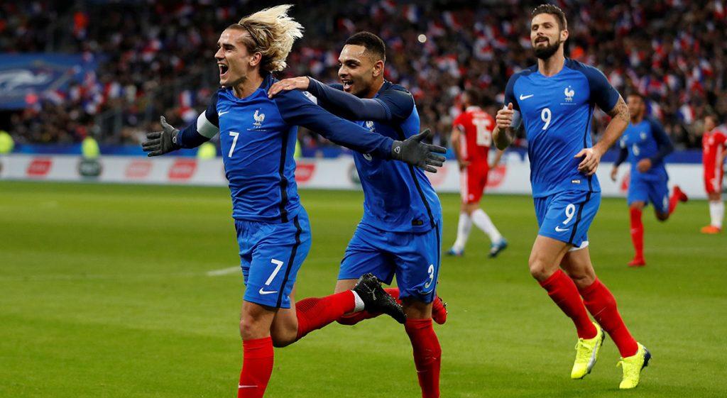 Con Antoine Griezmann recuperando el gol; Alemania sin gol en Wembley y Portugal goleando sin CR7, los amistosos rumbo a Rusia fueron autentico laboratorio