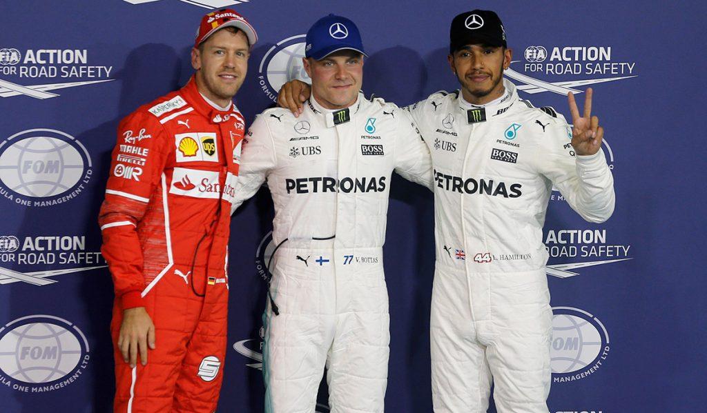 Valtteri Bottas gana la última pole position de la temporada para el Gran Premio de Abu Dabi; el campeón Lewis Hamilton saldrá segundo