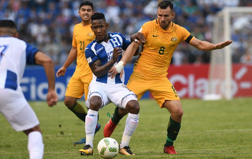 Honduras no pudo marcarle a Australia y terminó 0-0 en el partido de ida por el repechaje rumbo al Mundial de Rusia 2018