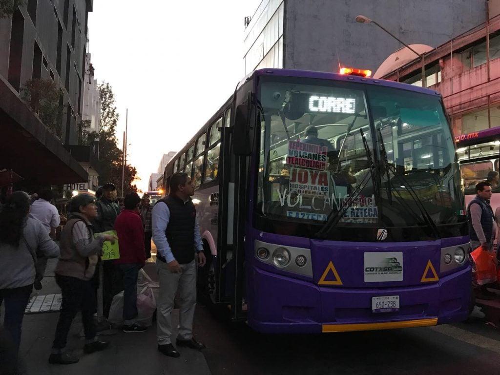Prometen autobuses cada tres minutos en Tlalpan