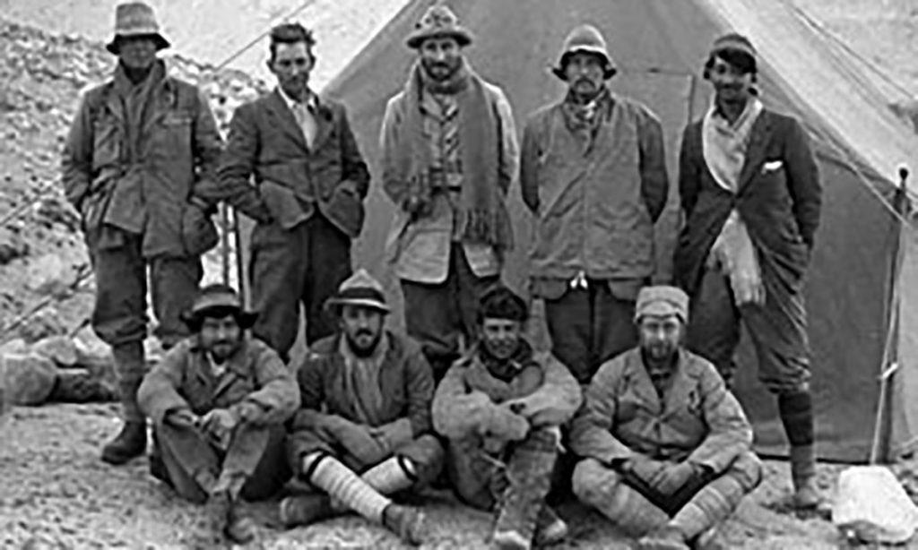 9 integrantes de una expedición al Everest en 1922 fueron condecorados con el oro olímpico post mortem en los Juegos de Chamonix 1924