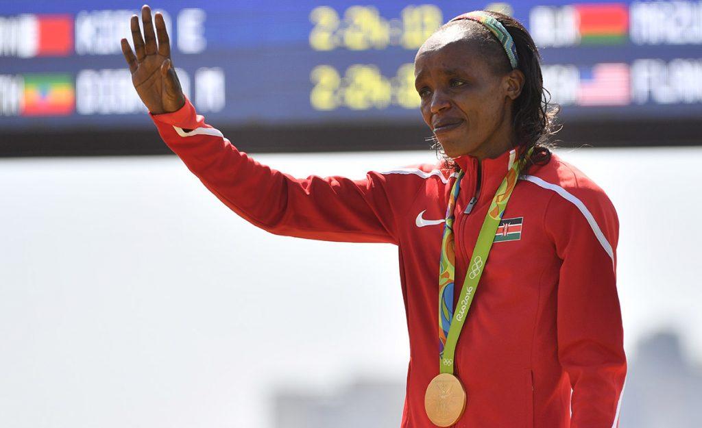 La atleta keniana Jemima Sumgong fue suspendida cuatro años por dar positivo con la sustancia EPO en un control antidopaje