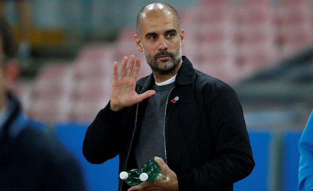 El entrenador del Manchester City, Josep Guardiola, desea la pronta liberación de los políticos del destituido gobierno regional de Cataluña