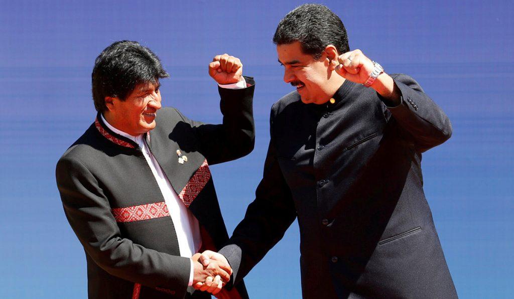 El presidente de Bolivia, Evo Morales, expresó su respaldo a su homólogo de Venezuela, Nicolás Maduro en la IV Cumbre del Foro de Países Exportadores de Gas