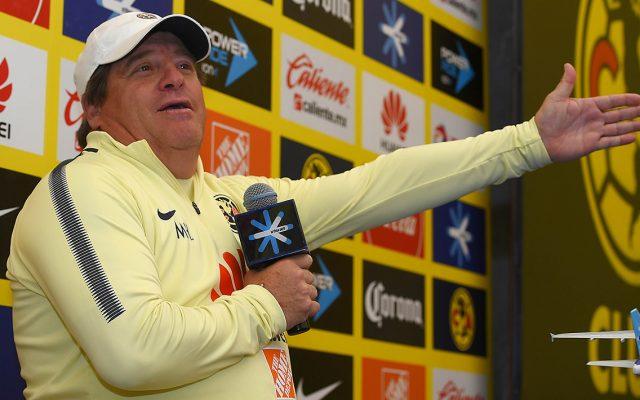 Miguel Herrera, técnico del América, reconoce que su equipo ha sido defensivo por circunstancias del juego, pero ante Tigres acabaran con la sequía