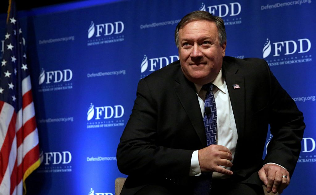 Mike Pompeo, director de la CIA, reafirmó que Rusia interfirió en los comicios presidenciales de Estados Unidos en el 2016