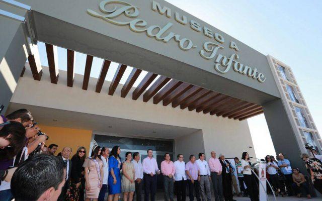 Como uno de los eventos para conmemorar el centenario del natalicio de Pedro Infante, el museo dedicado al ídolo fue inaugurado en Guamúchil, Sinaloa
