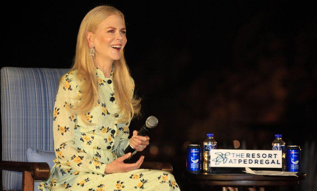 Nicole Kidman presentó su película