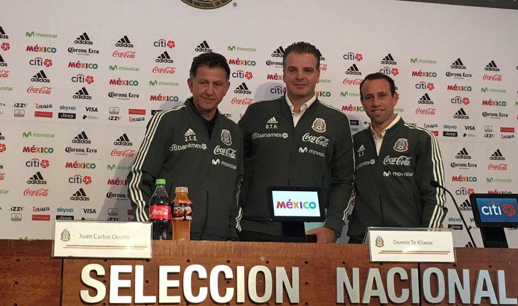 En el marco de la presentación de Gerardo Torrado como director deportivo del Tri, Juan Carlos Osorio dio la lista de convocados para los duelos en Europa.