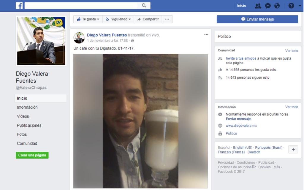 """Diputado propone redes sociales para """"ciudadanizar"""" agenda legislativa"""