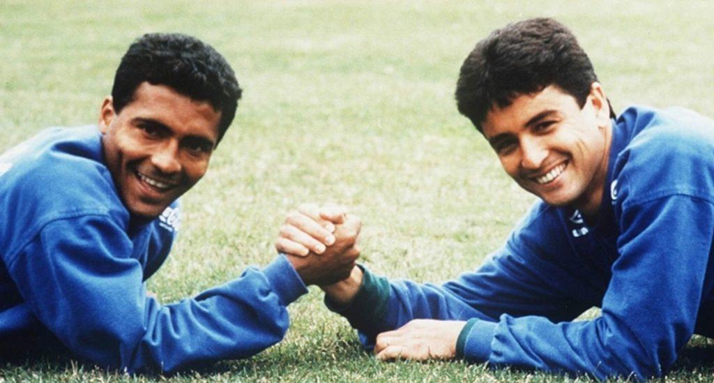 Romario y Bebeto, la poderosa delantera del Brasil campeón en Estados Unidos 1994 se vuelve a unir, ahora en la política