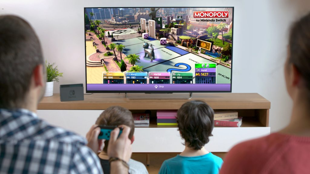 A la venta a partir de hoy, el juego Monopoly para Nintendo Switch
