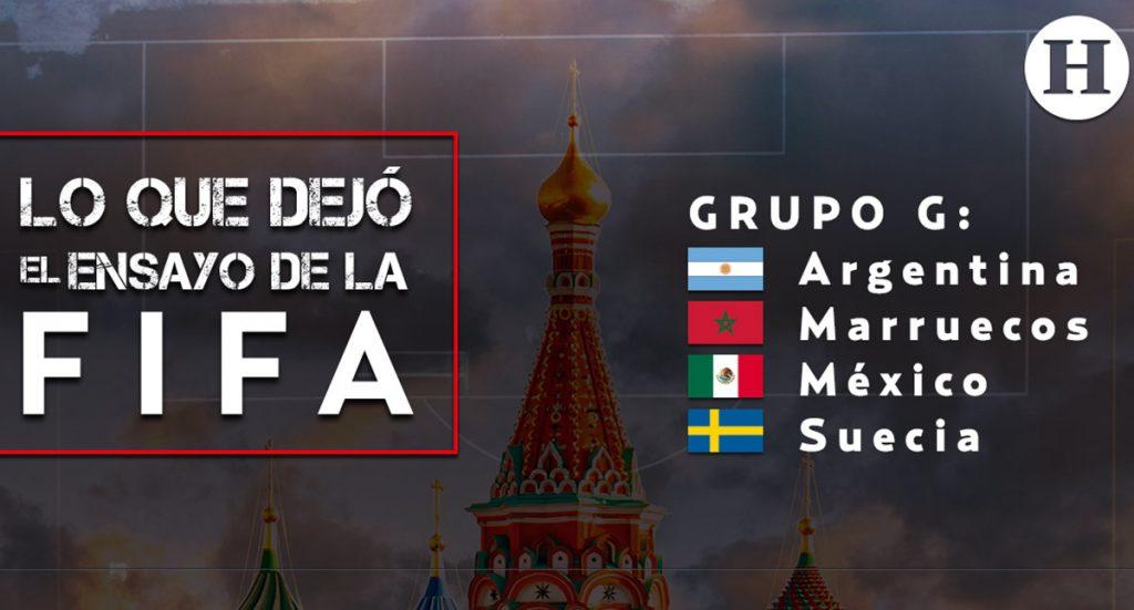 La FIFA realizó un ensayo del sorteo del próximo viernes para el Mundial de Rusia y México quedó  con Argentina y Suecia en el mismo grupo