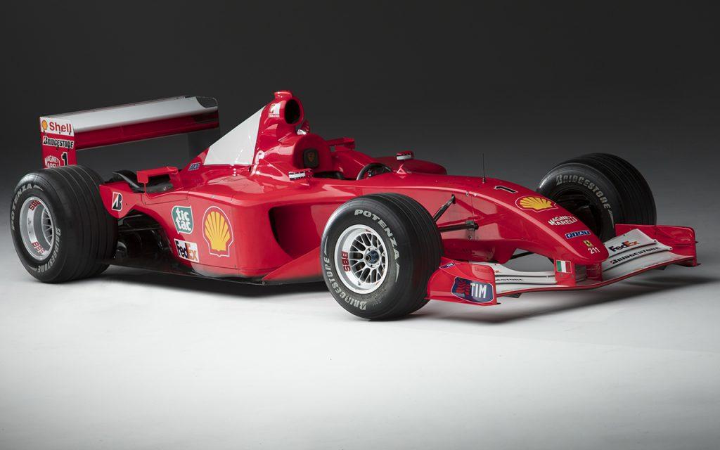 El valor del Ferrari F-1 de Michael Schumacher que vendió Sotheby's
